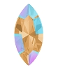 Swarovski 4228 Xilion Navette Fancy Stone 8x4mm Light Colorado Topaz Shimmer (360 Pieces)